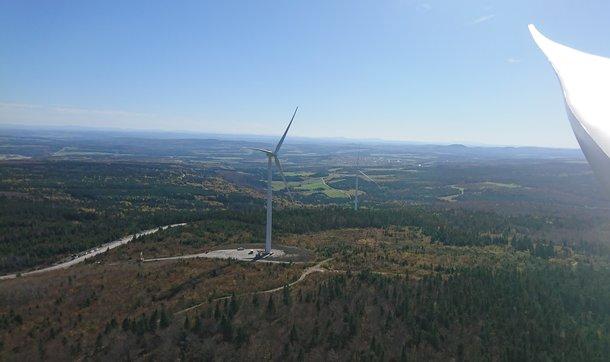 Parc éolien Mont Ste-Marguerite