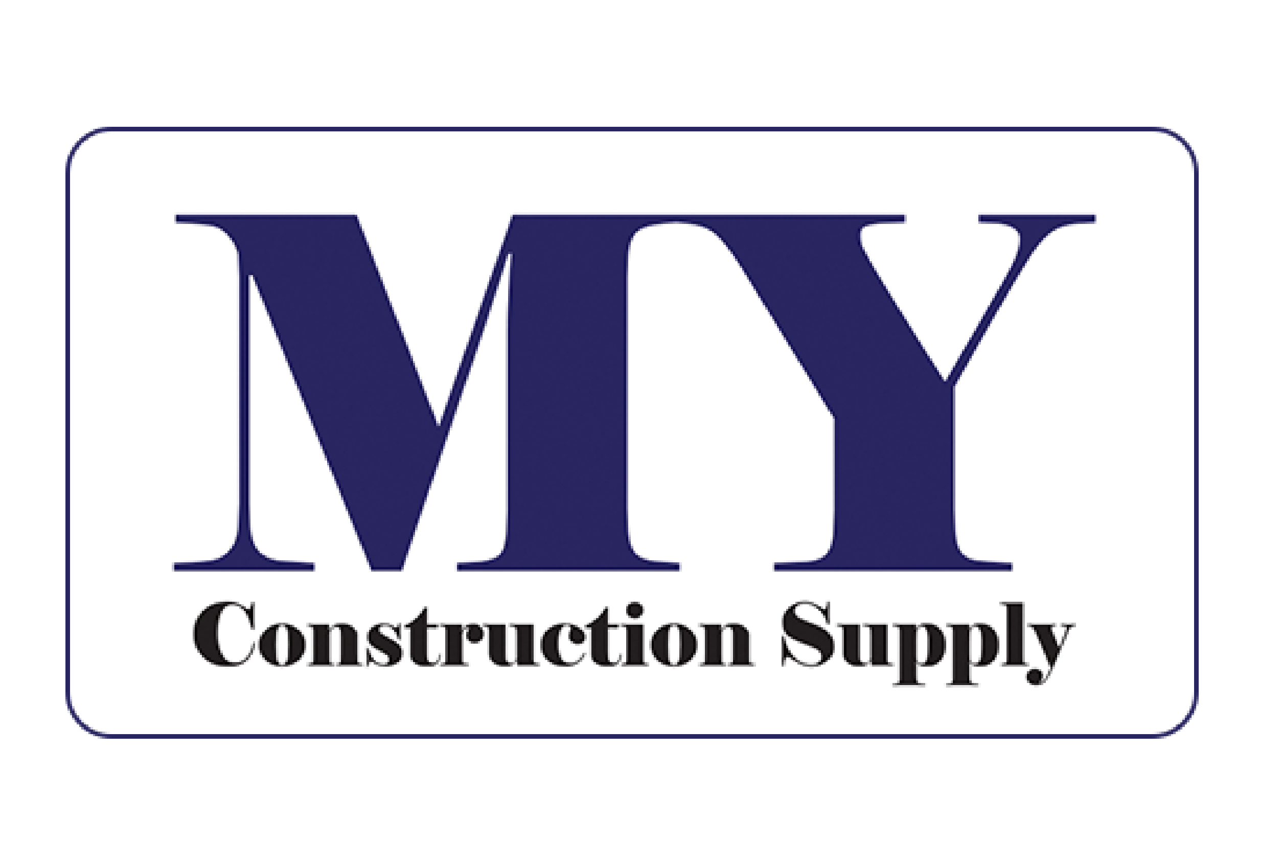 MY construction Supply logo