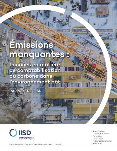 emissions manquantes